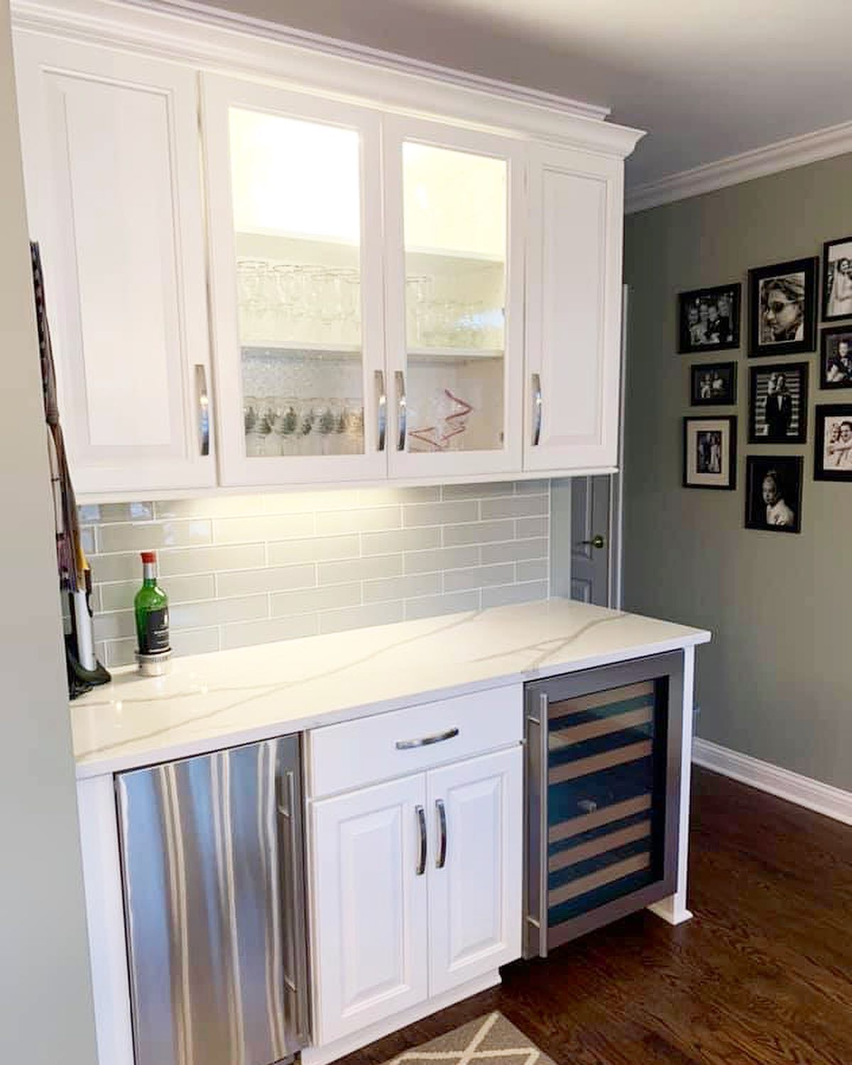 Louisville Kitchen Bar Cabinetry