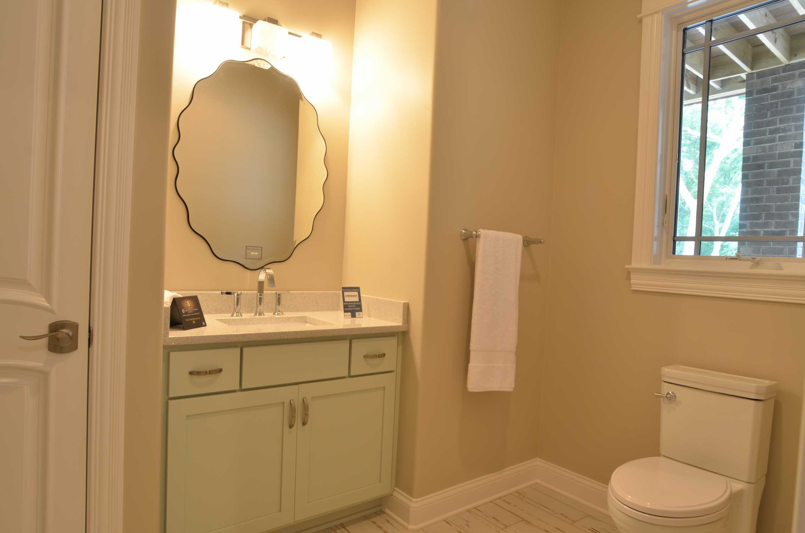 Louisville Bathroom Cabinet remodel